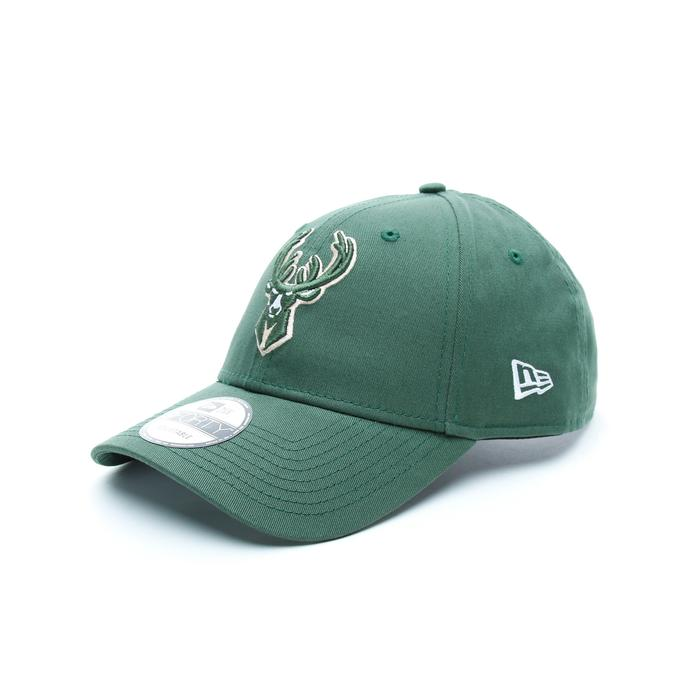 New Era Milwaukee Bucks Unisex Beyaz Şapka