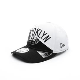 New Era Brooklyn Nets Split Stretch Unisex Siyah-Beyaz Şapka