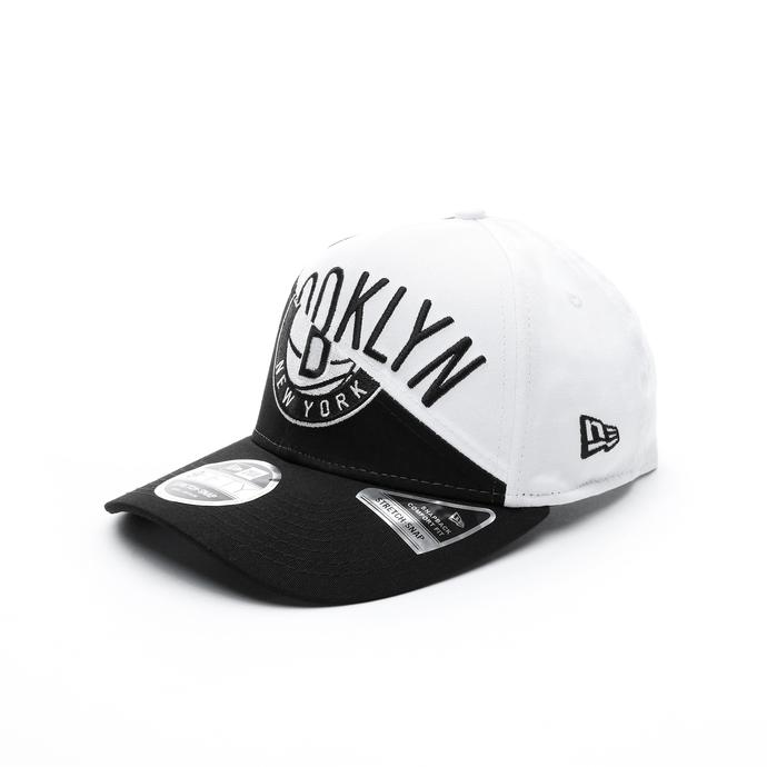 New Era Brooklyn Nets Split Stretch Unisex Siyah-Beyaz Şapka