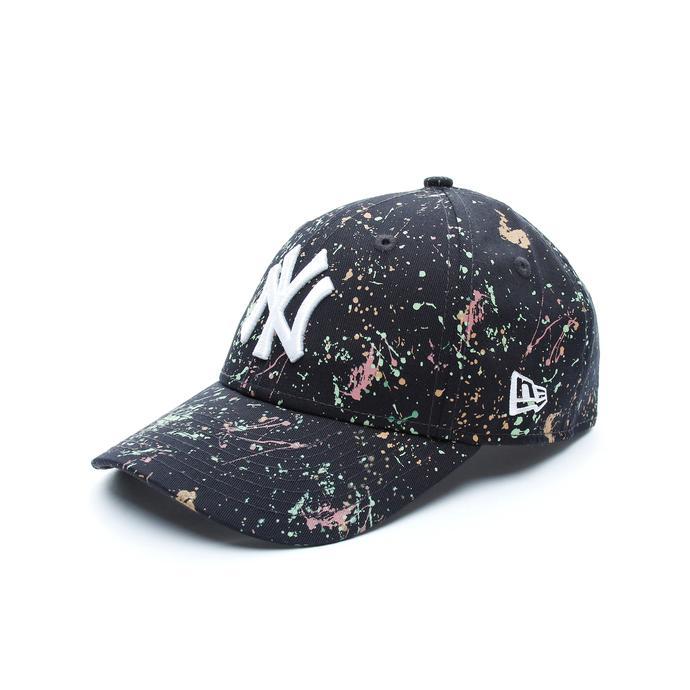 New Era New York Yankees Paint Çocuk Siyah Şapka