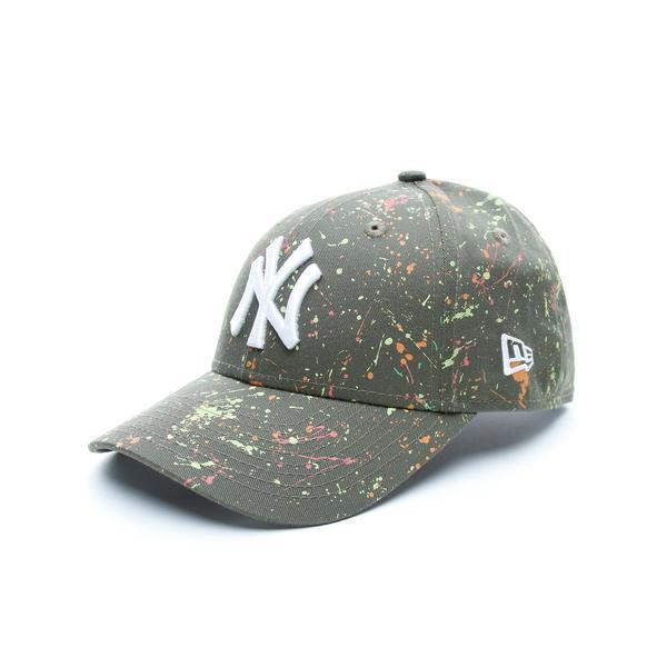 New Era New York Yankees Paint Çocuk Yeşil Şapka