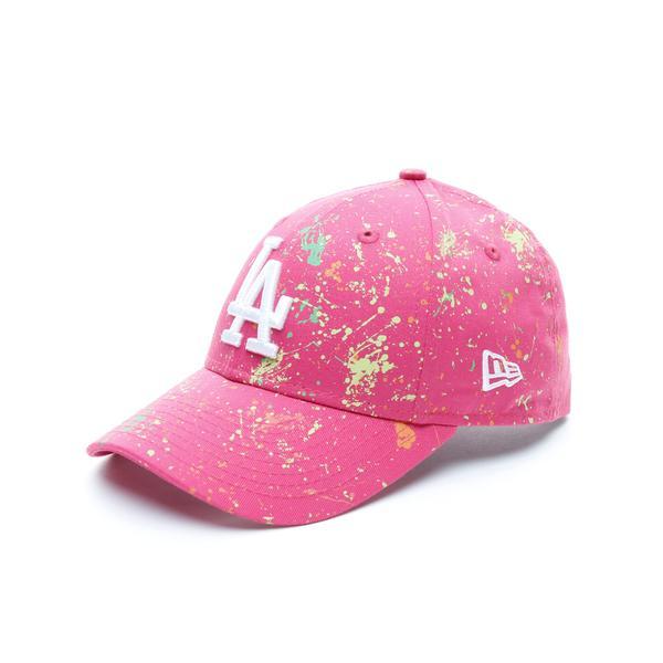 New Era New York Yankees Paint Çocuk Pembe Şapka