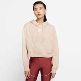 Nike Sportswear Air Fleece Kadın Bej Kapüşonlu Sweatshirt