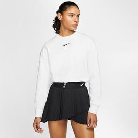 Nike Sportswear Swoosh Crew Kadın Beyaz Sweatshirt