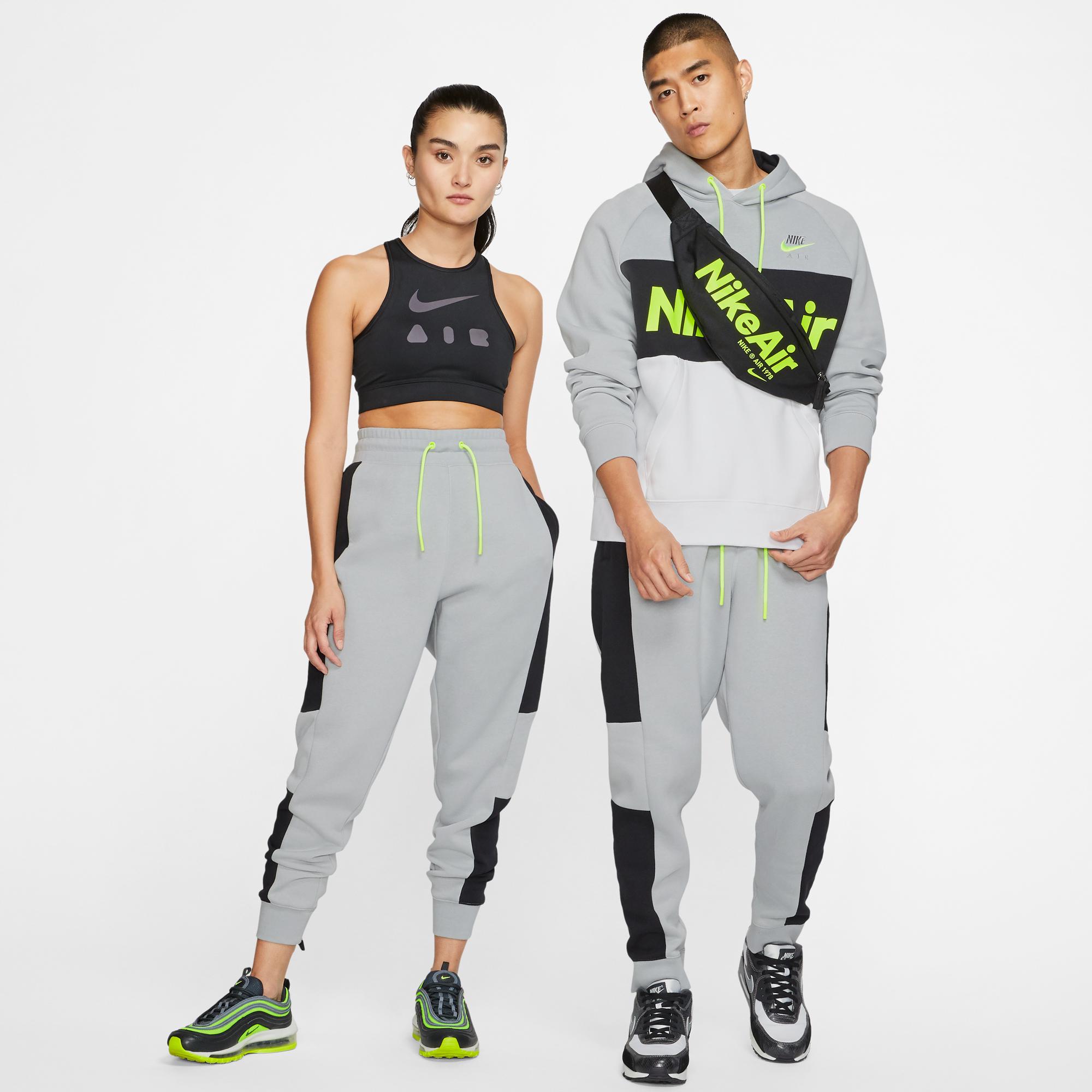 Nike Sportwear Air Erkek Gri Eşofman Altı