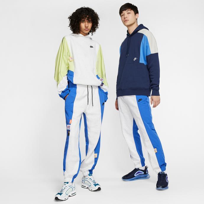 Nike Sportswear Kadın Beyaz-Mavi Eşofman Altı