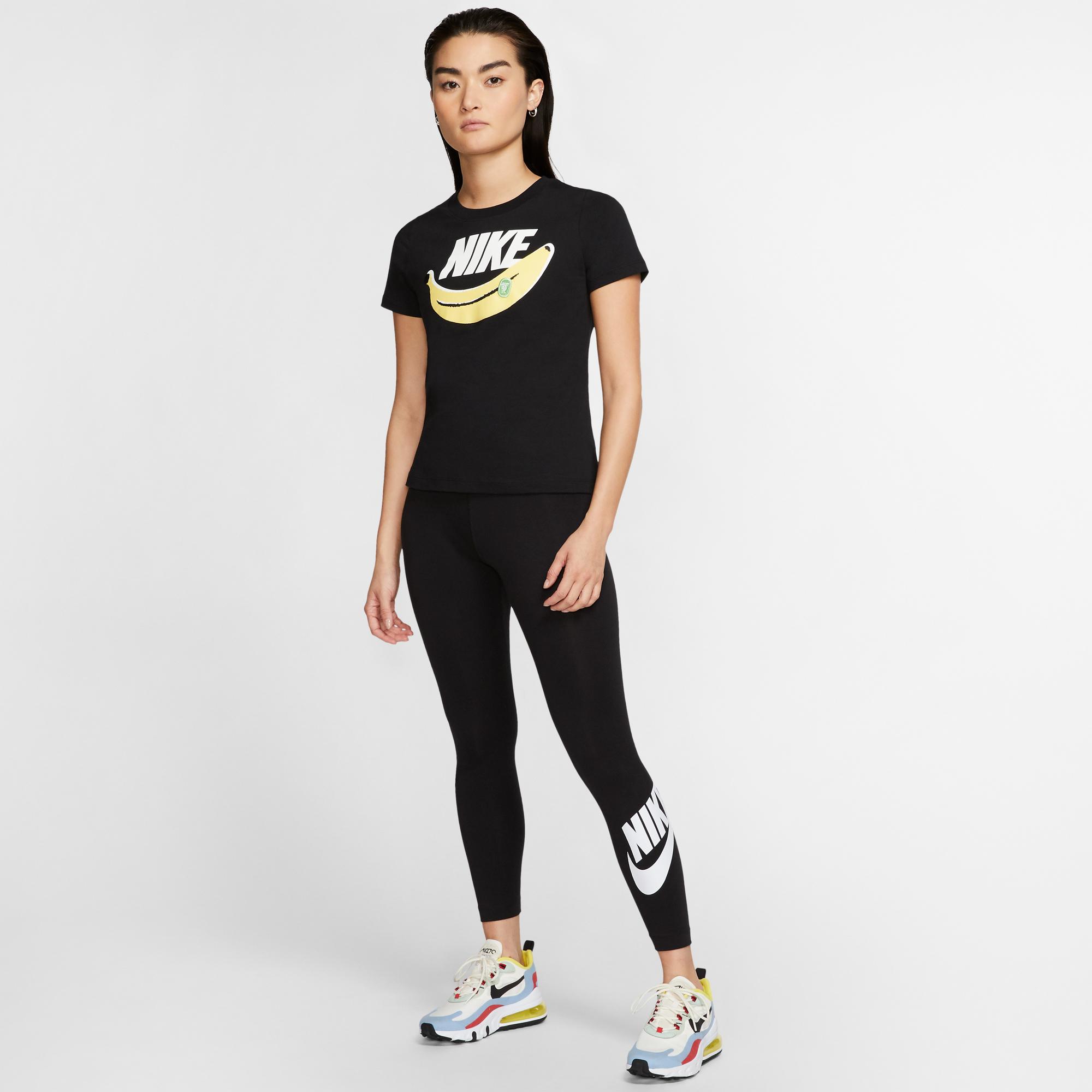 Nike Sportswear Leg-A-See Kadın Siyah Tayt