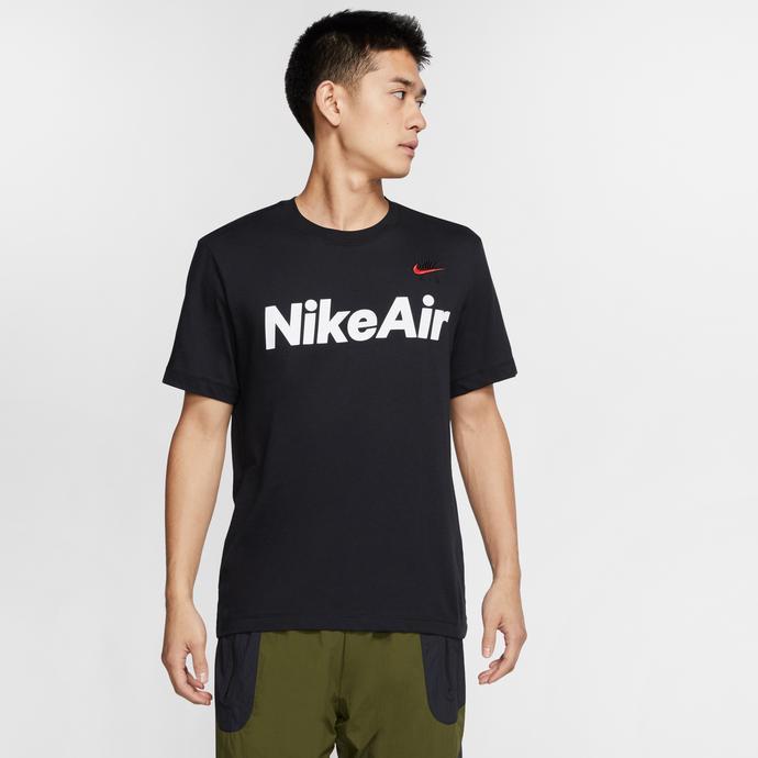 Nike Sportswear Air Erkek Siyah T-Shirt