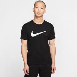Nike Sportswear Swoosh Erkek Siyah T-Shirt
