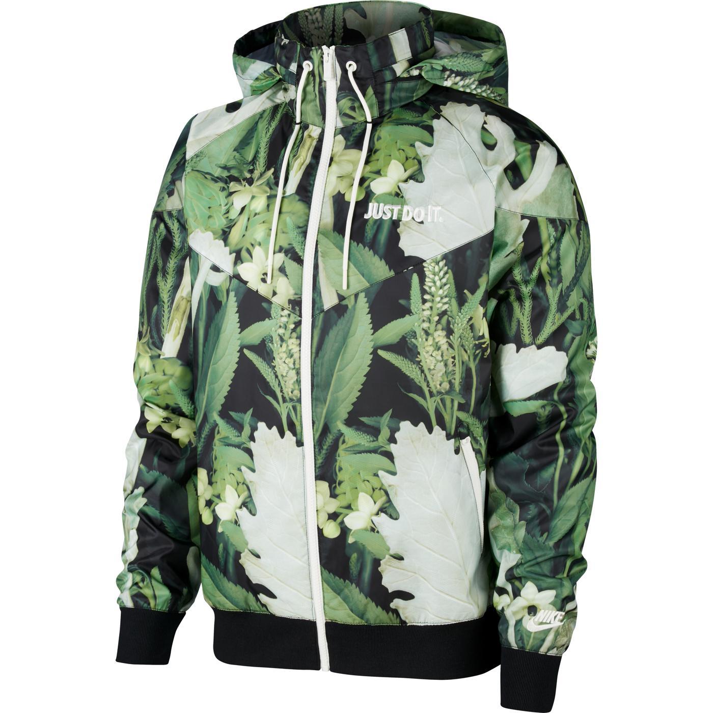 Nike Sportswear JDI Windrunner Erkek Yeşil Ceket