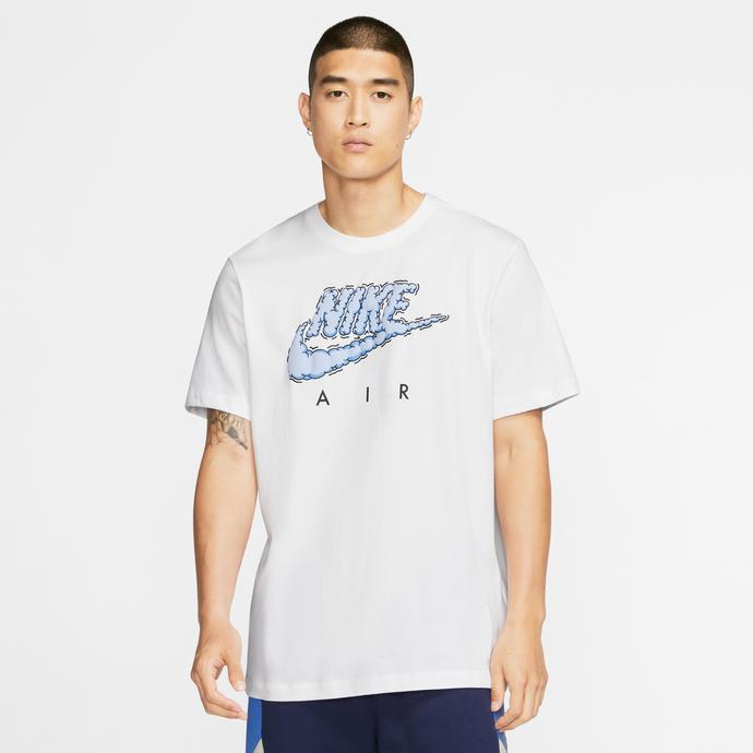Nike Sportswear Air Illustration Erkek Beyaz T-Shirt