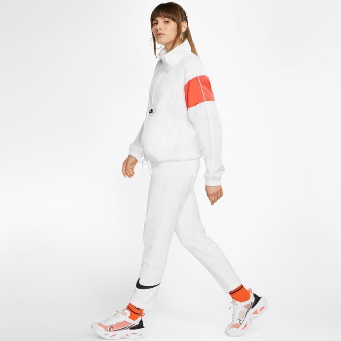 Nike Sportswear Swoosh Kadın Beyaz Eşofman Altı