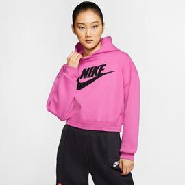 Nike Sportswear Fleece Kadın Kırmızı Kapüşonlu Sweatshirt