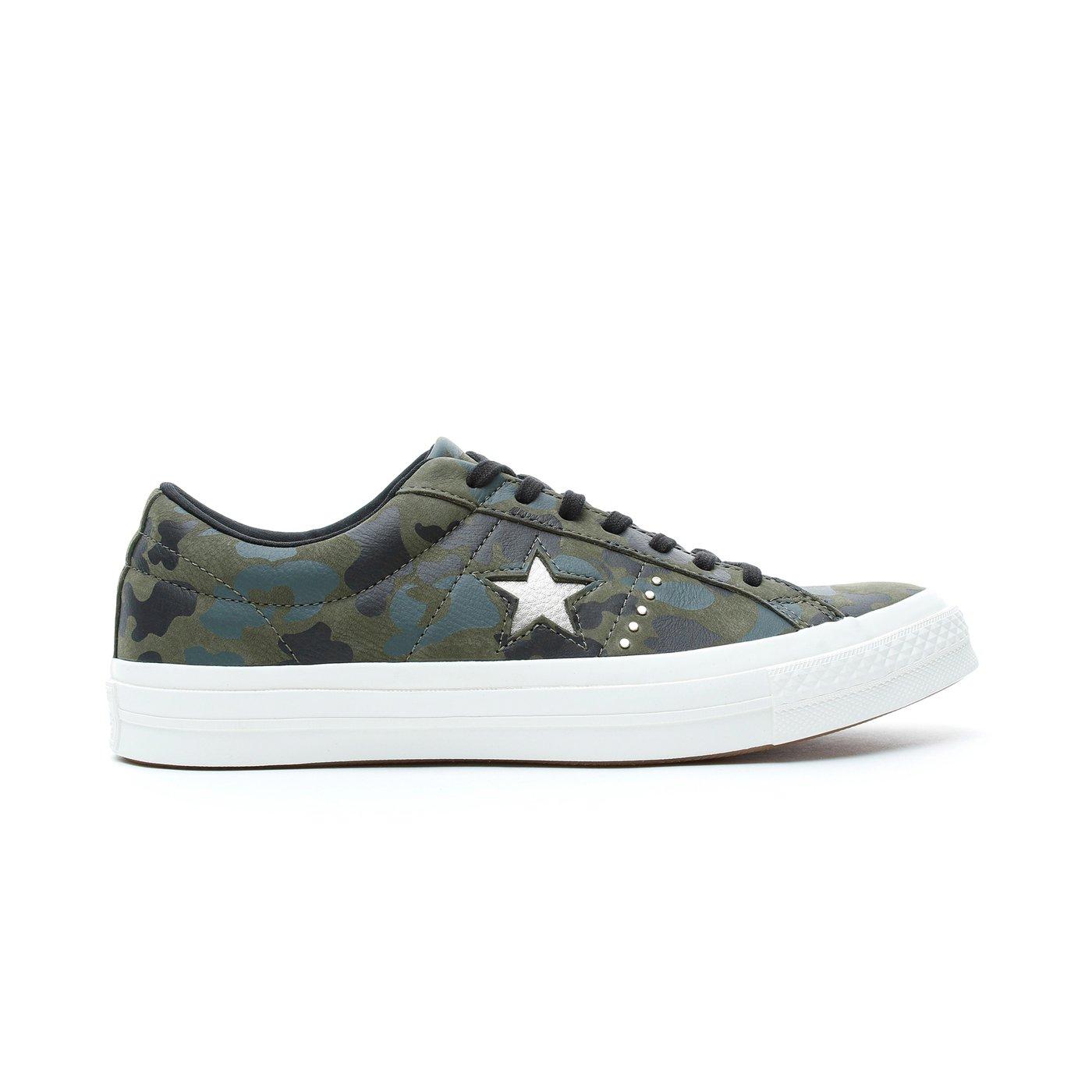 Converse One Star Unisex Yeşil Sneaker