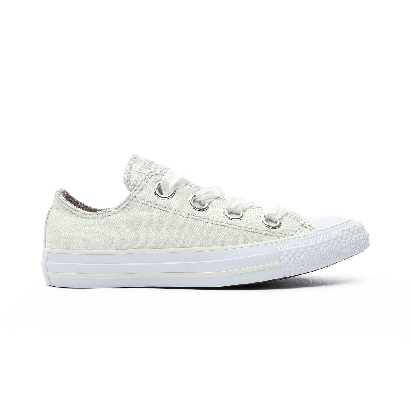 Converse Chuck Taylor Big Eyelets Kadın Krem Sneaker