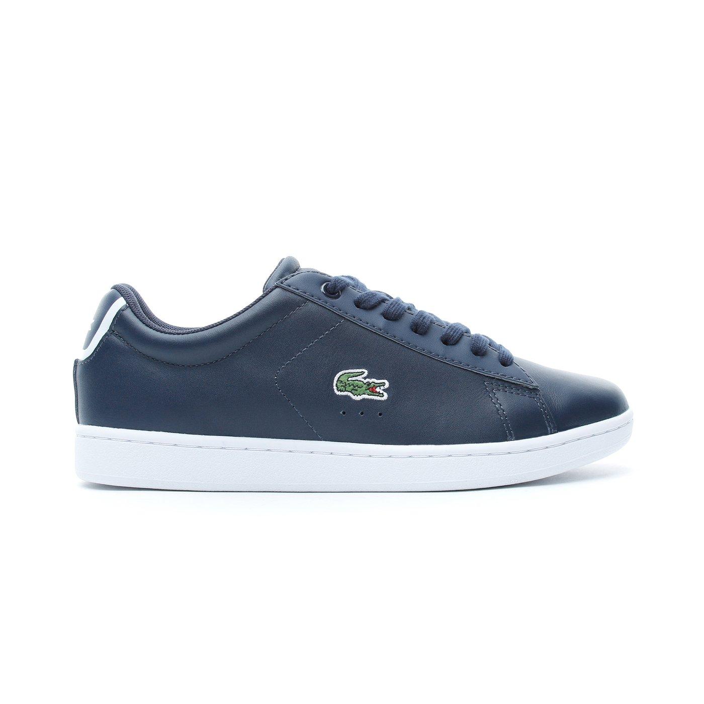 Lacoste Carnaby Evo BL 1 Kadın Lacivert Sneaker
