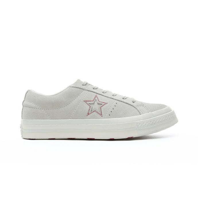 Converse One Star Love Metallic Kadın Krem Sneaker