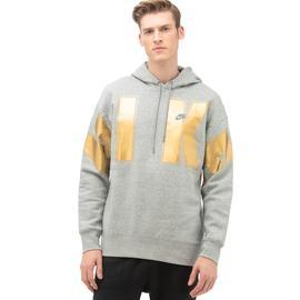 Nike Fleece Gri Erkek Sweatshirt