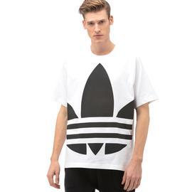 adidas Big Trefoil Boxy Beyaz T-Shirt