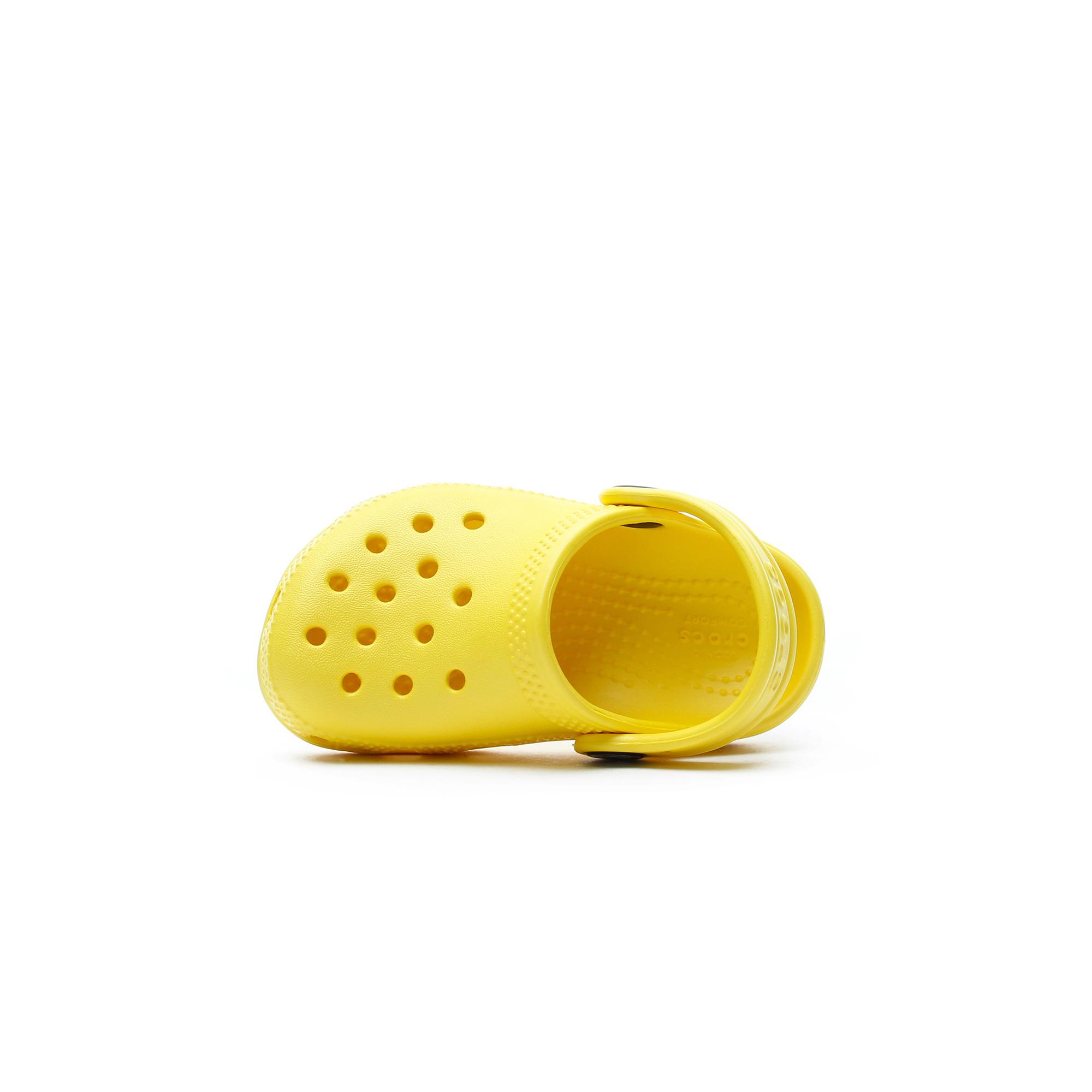 Crocs Classic Clog K Çocuk Sarı Terlik