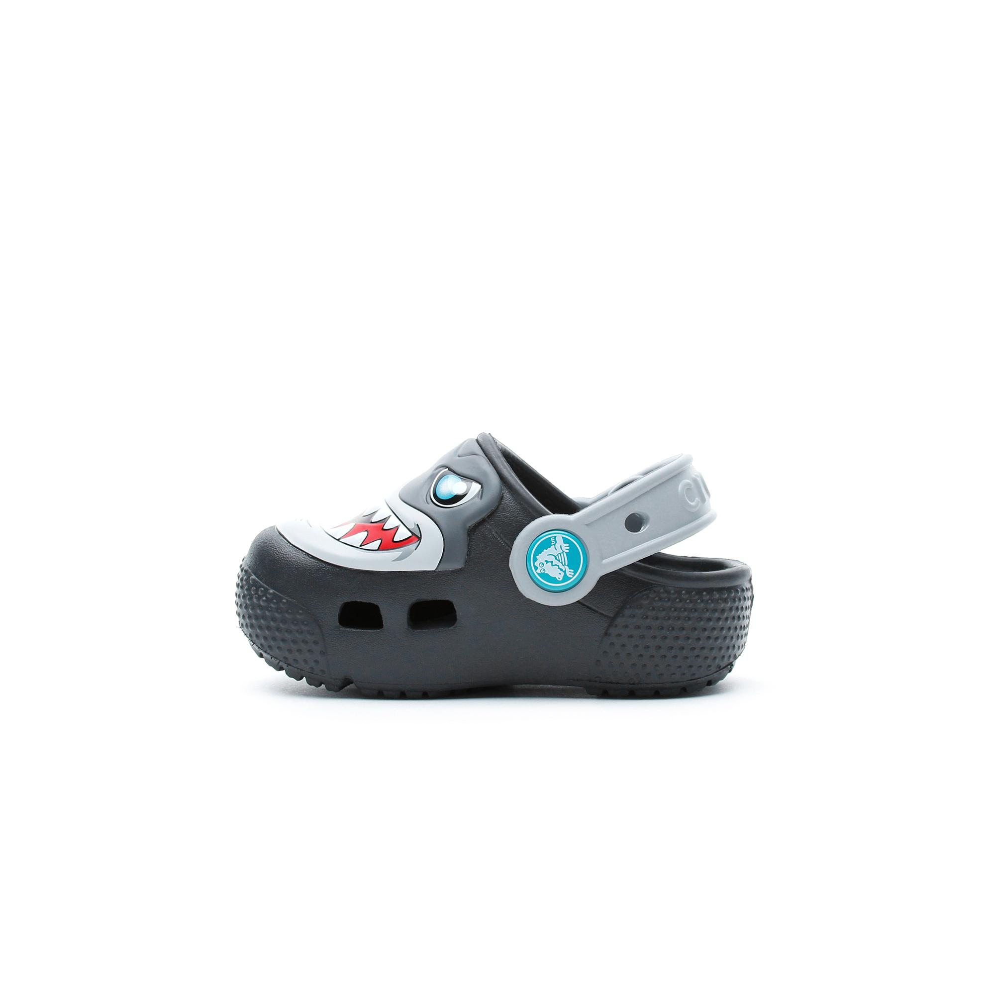 Crocs Crocs Fun Lab Lights Clog Çocuk Siyah Terlik