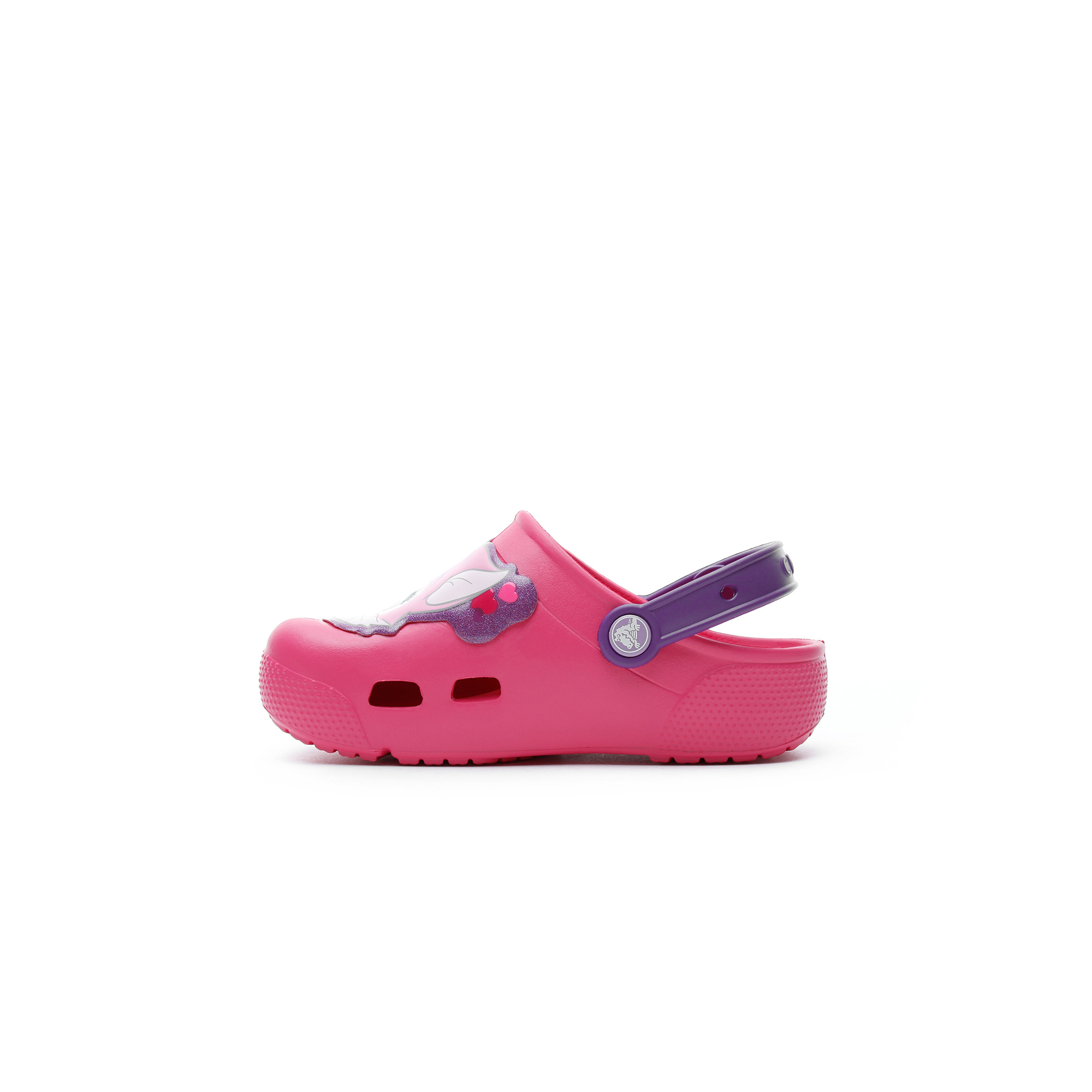 Crocs Fun Lab Lights Clog Çocuk Pembe Terlik