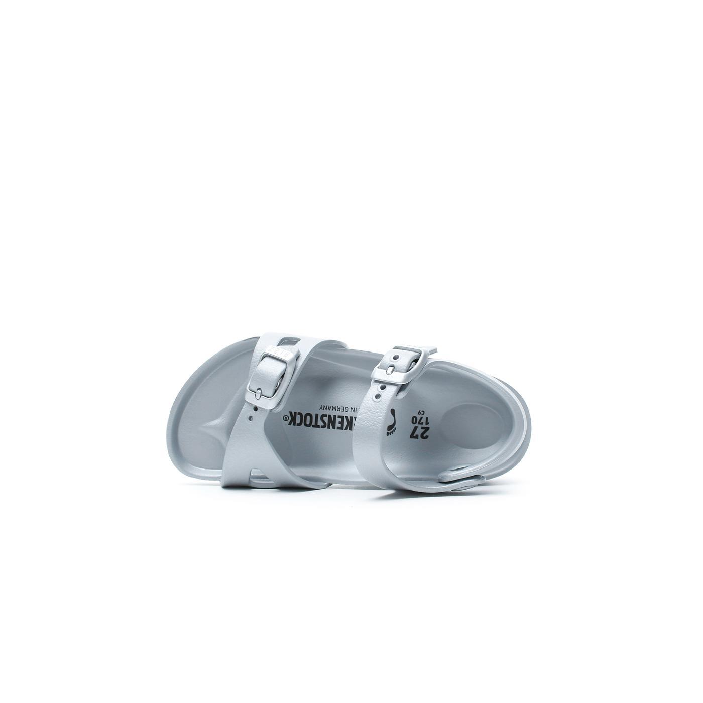 Birkenstock Rio Kids EVA Çocuk Gümüş Sandalet