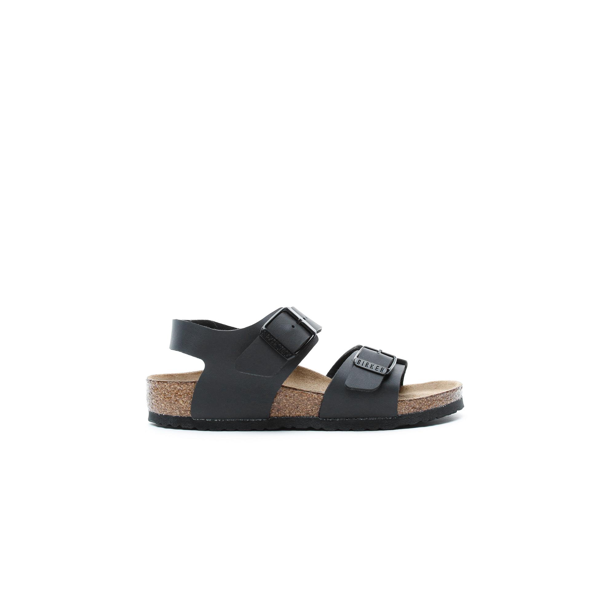 Birkenstock New York BF Çocuk Siyah Sandalet