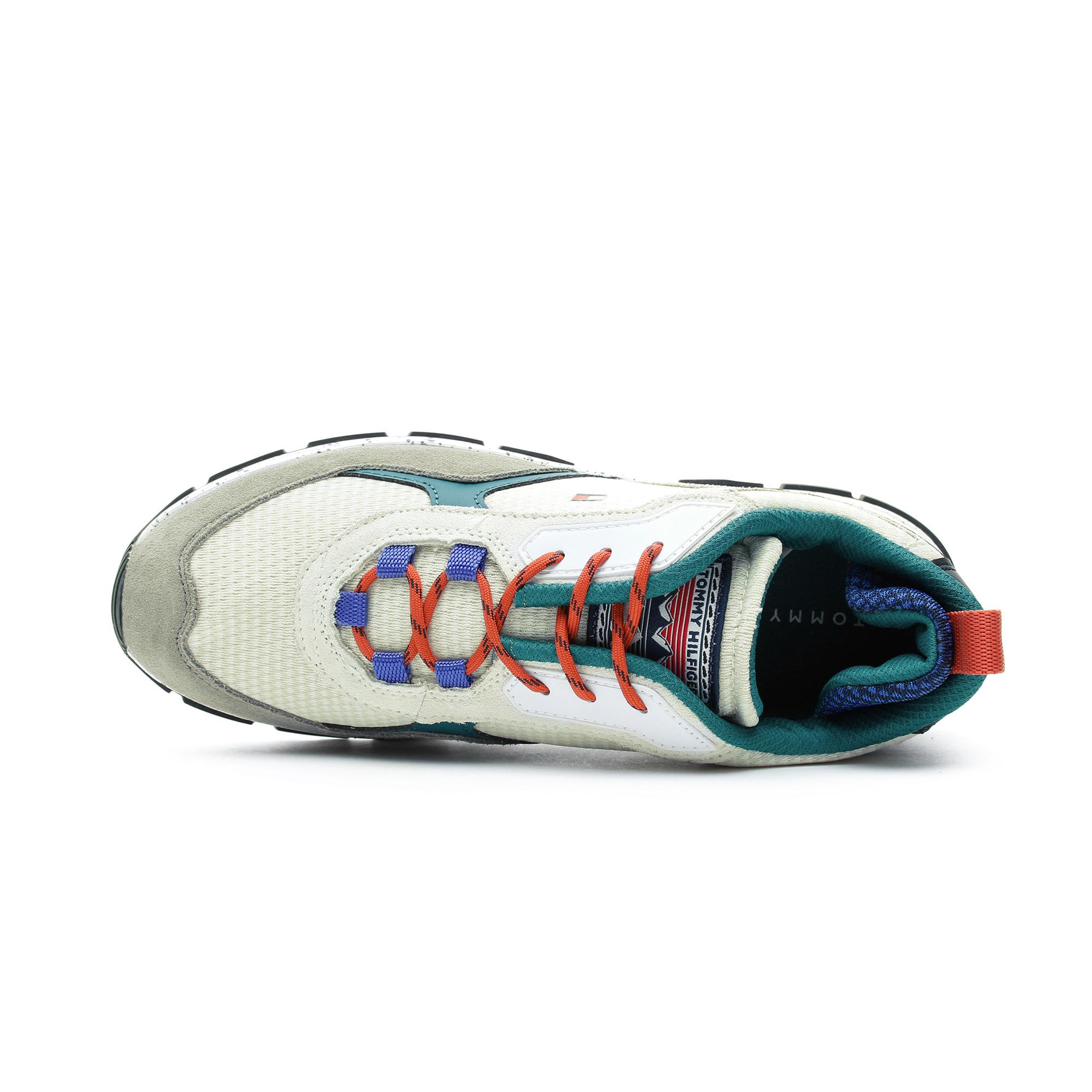 Tommy Hilfiger Fashion Mix Erkek Bej Spor Ayakkabı