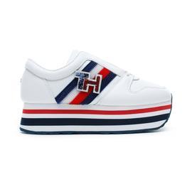 Tommy Hilfiger Customize Flatform Kadın Beyaz Spor Ayakkabı