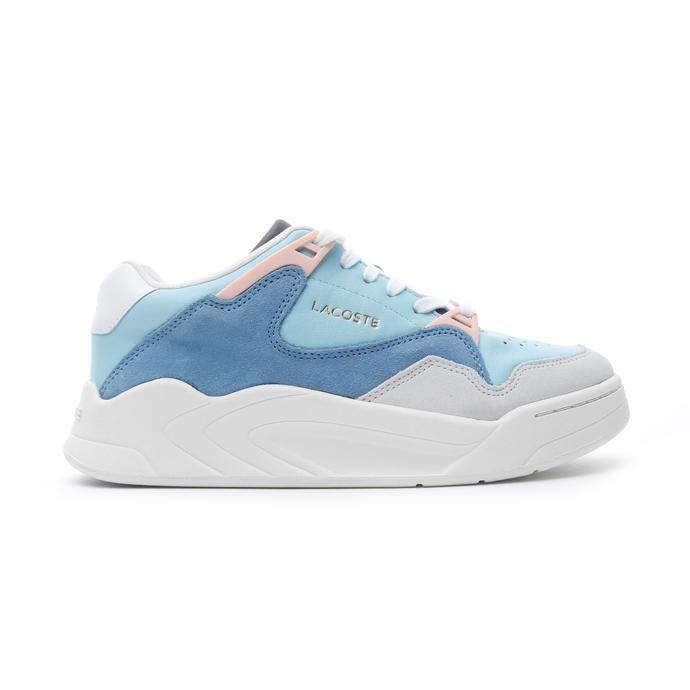 Lacoste Court Slam Kadın Açık Mavi - Beyaz Spor Ayakkabı