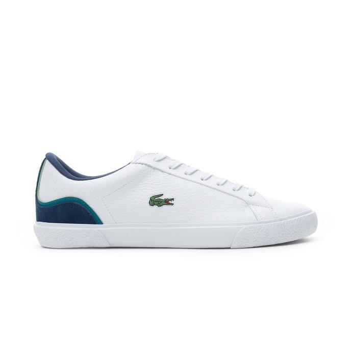 Lacoste Lerond  Erkek Beyaz - Lacivert Günlük Ayakkabı