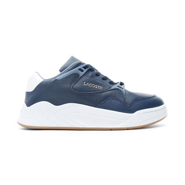 Lacoste Court Slam  Erkek Lacivert - Açık Mavi Spor Ayakkabı
