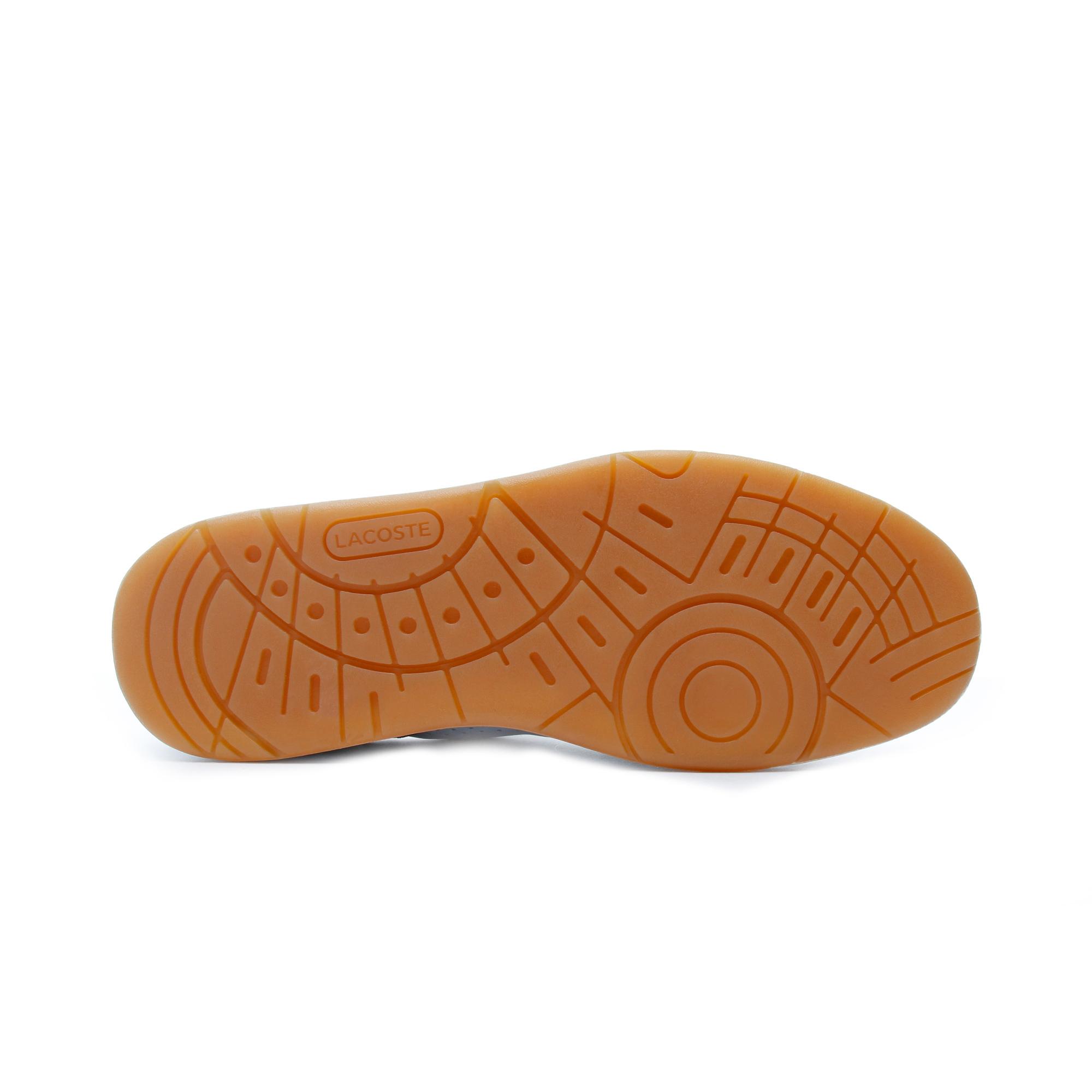 Lacoste T-Clip Erkek Beyaz - Lacivert Spor Ayakkabı