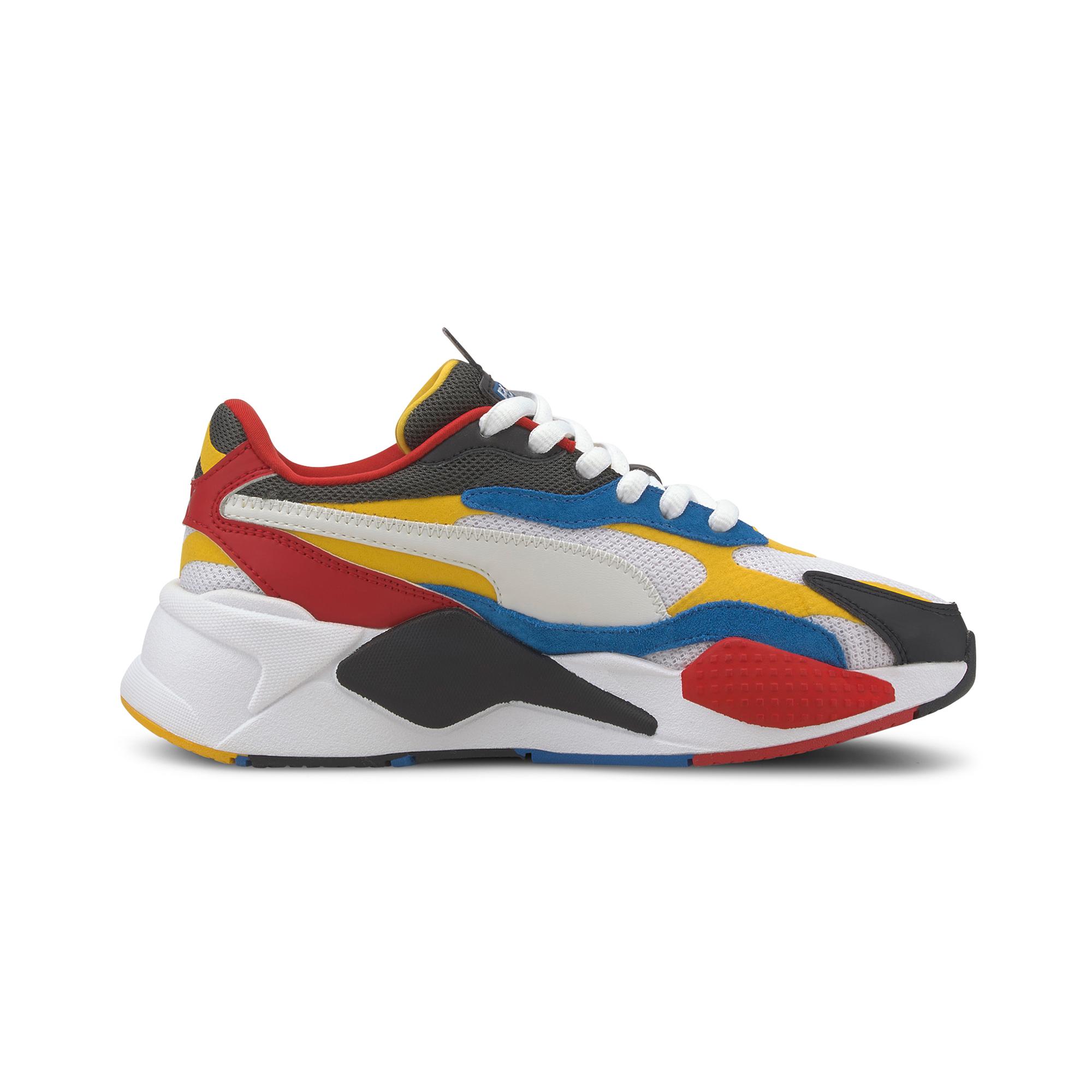 Puma RS-X³ Puzzle Kadın Renkli Spor Ayakkabı