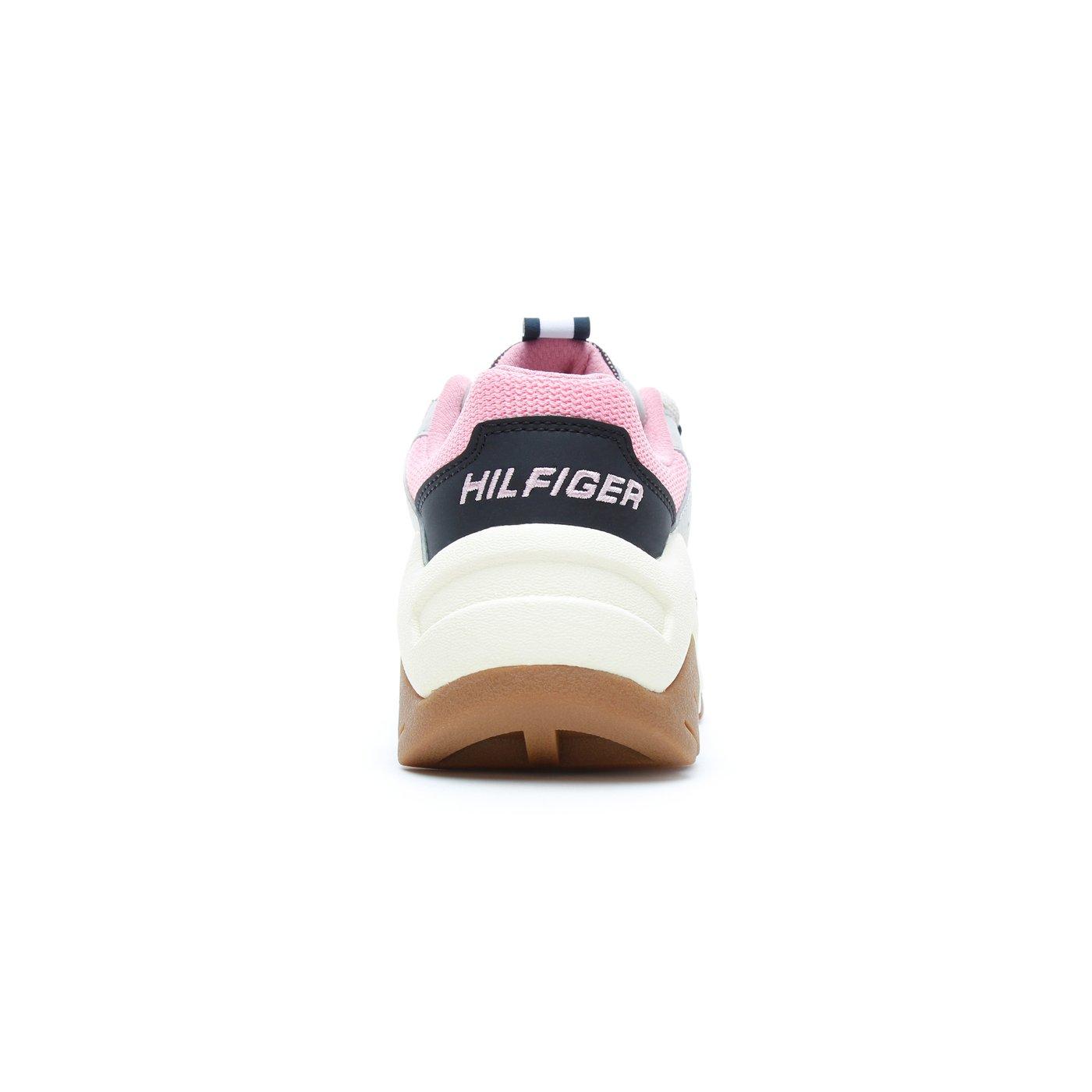Tommy Hilfiger Chunky Heritage Kadın Bej Spor Ayakkabı