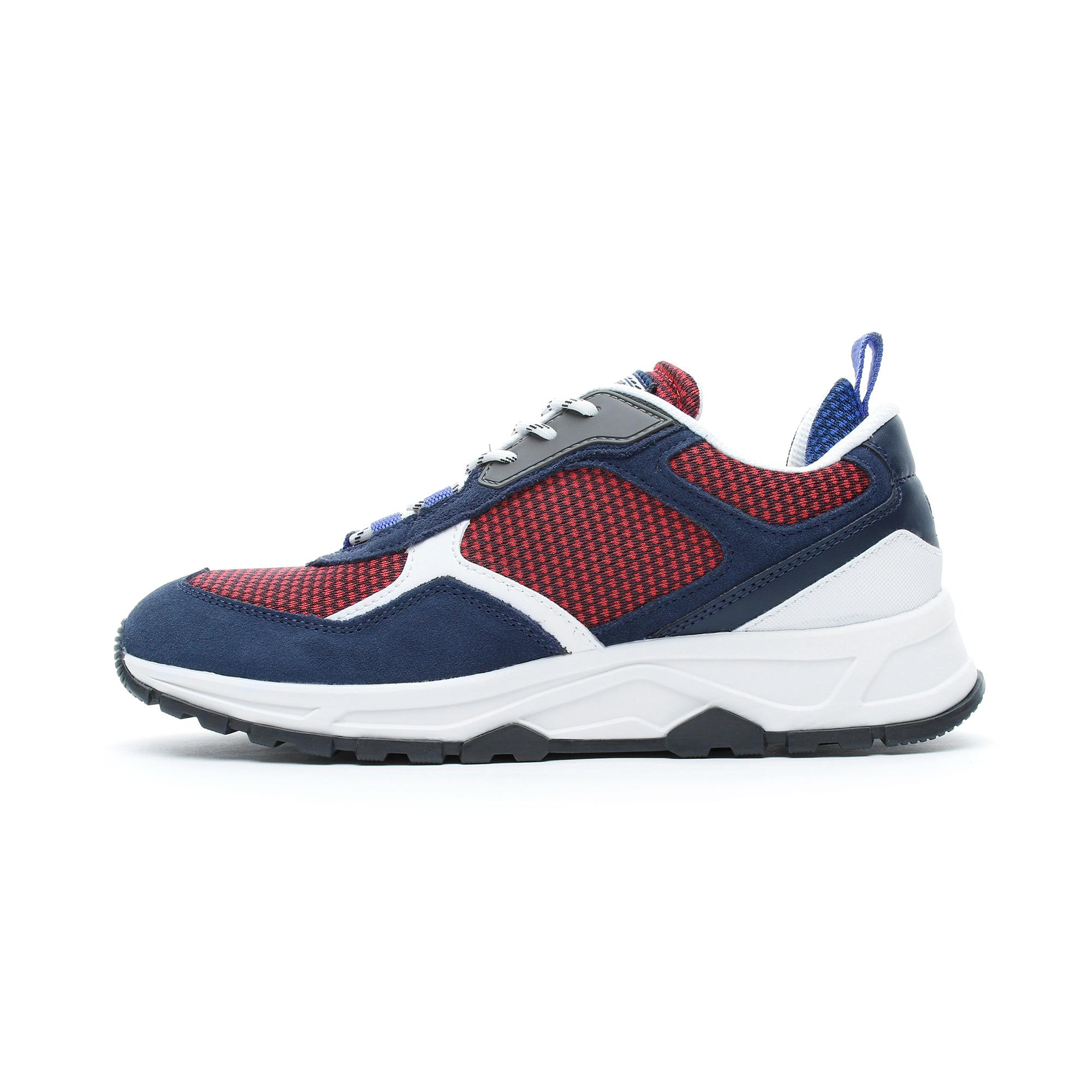 Tommy Hilfiger Fashion Mix Erkek Kırmızı-Lacivert Spor Ayakkabı