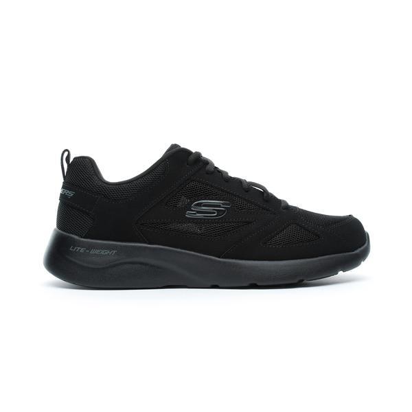 Skechers Dynamight 2.0 - Fallford Erkek Siyah Spor Ayakkabı