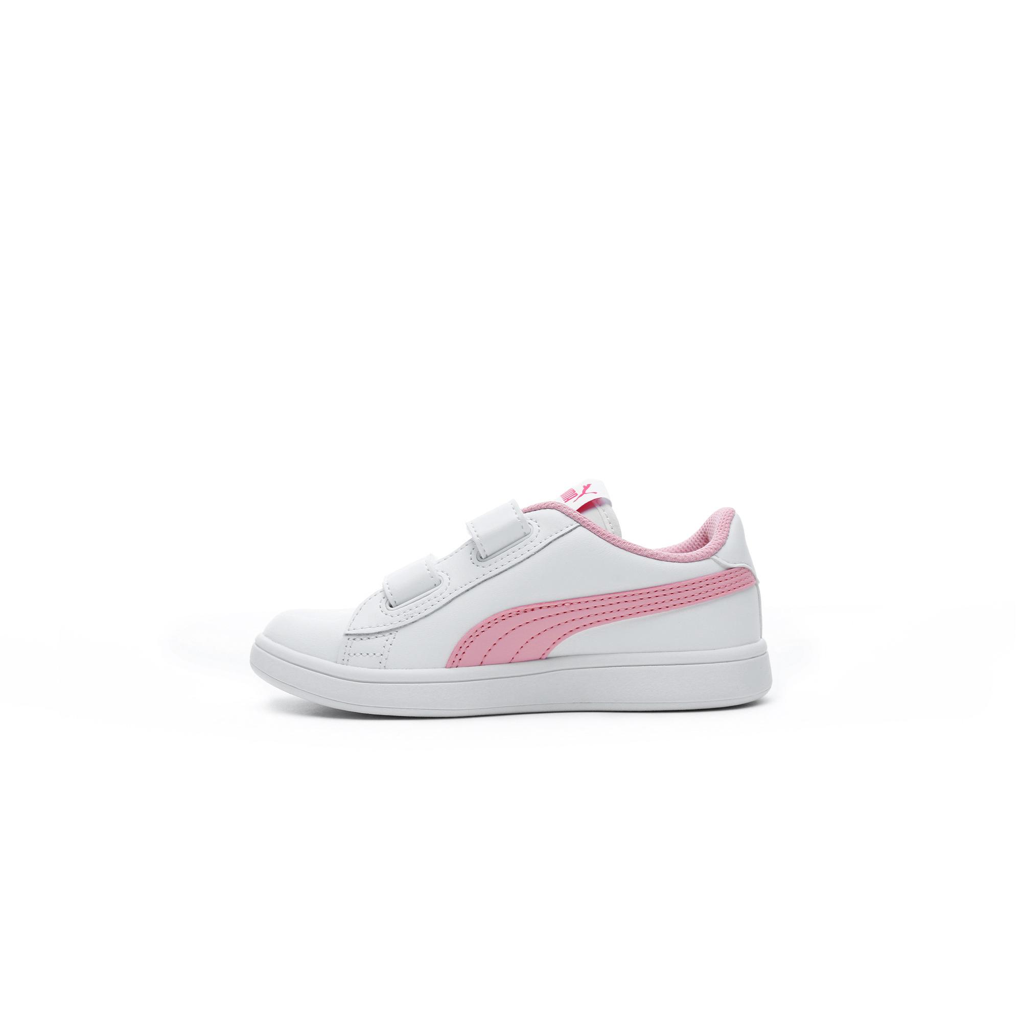 Puma Smash v2 Çocuk Beyaz Spor Ayakkabı