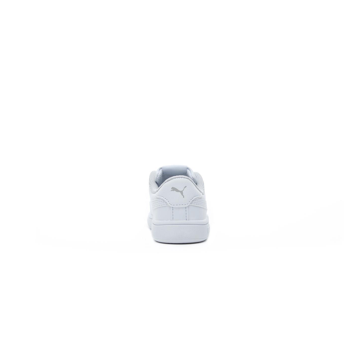 Puma Smash v2 Bebek Beyaz Spor Ayakkabı