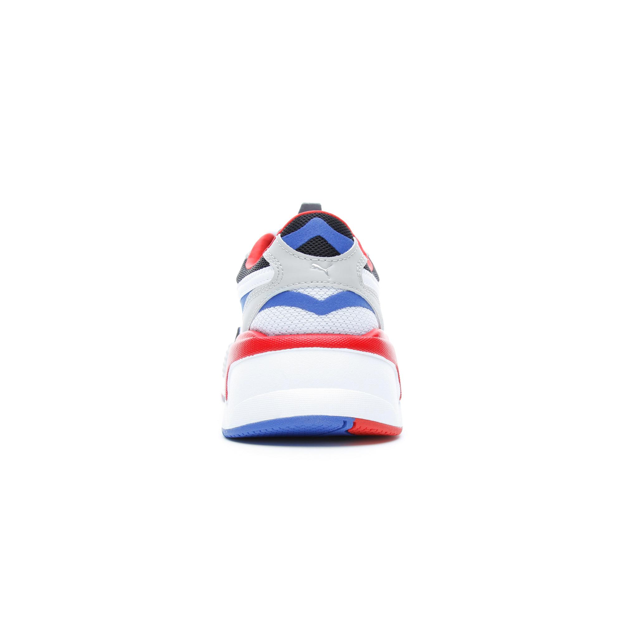 Puma RS-X³ Puzzle Erkek Beyaz-Mavi Spor Ayakkabı