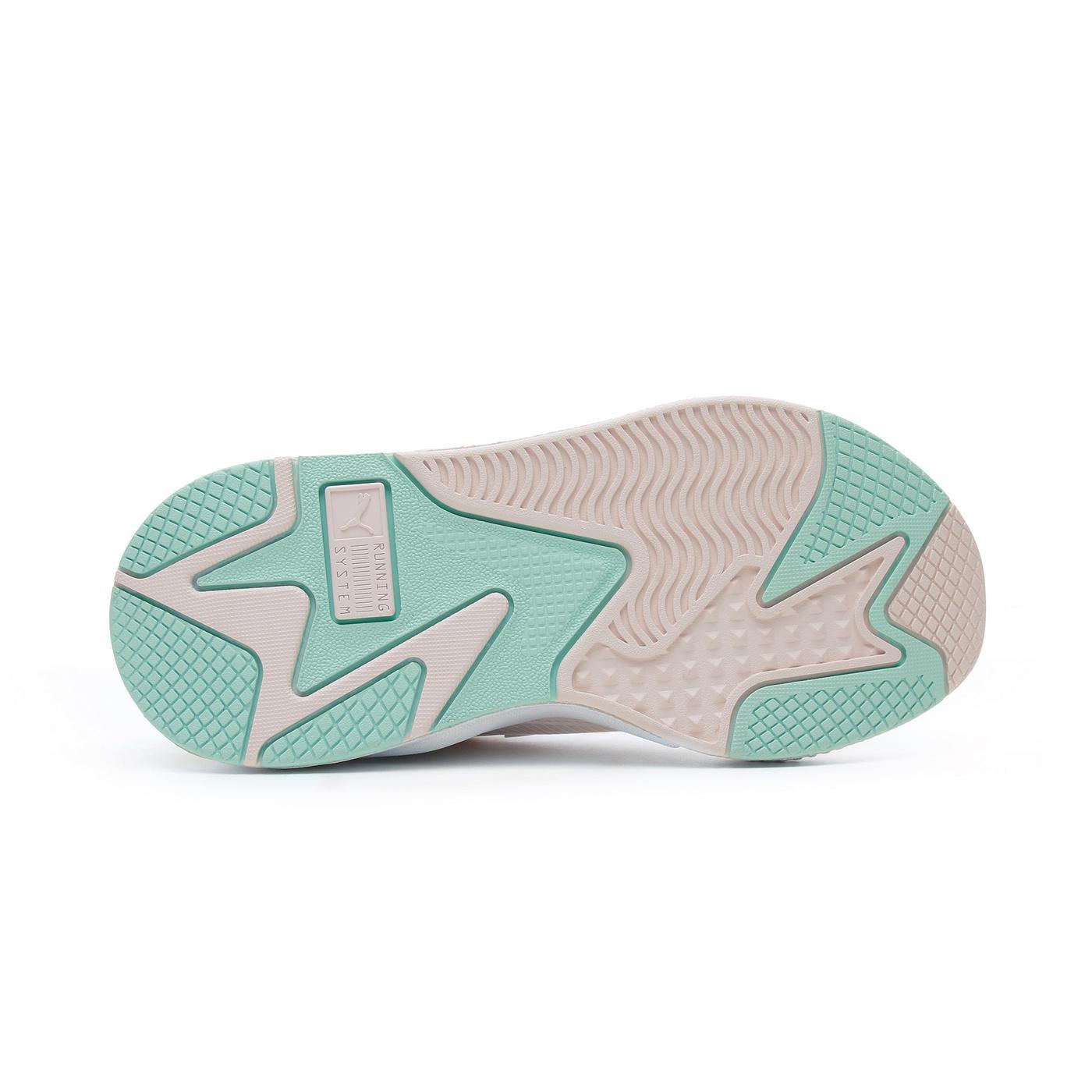 Puma RS-X Collegiate Kadın Bej-Yeşil Spor Ayakkabı