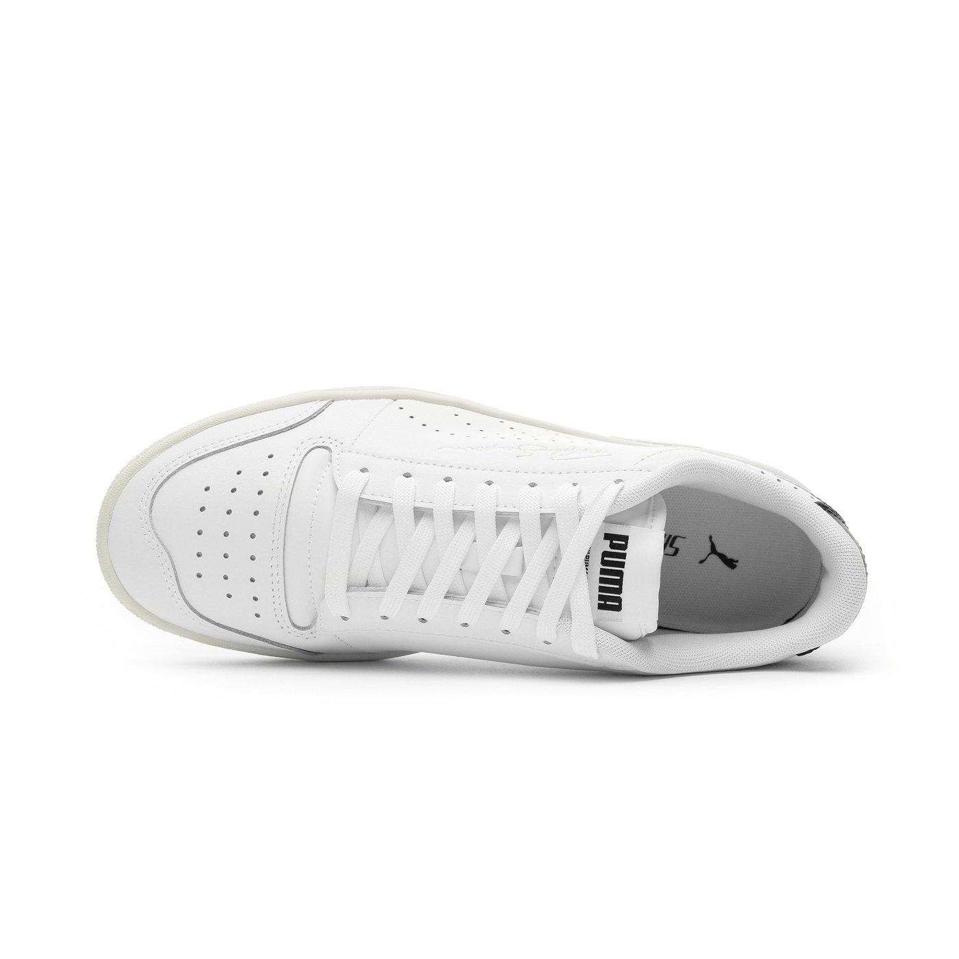 Puma Ralph Sampson Lo Perf Soft Erkek Gri Spor Ayakkabı