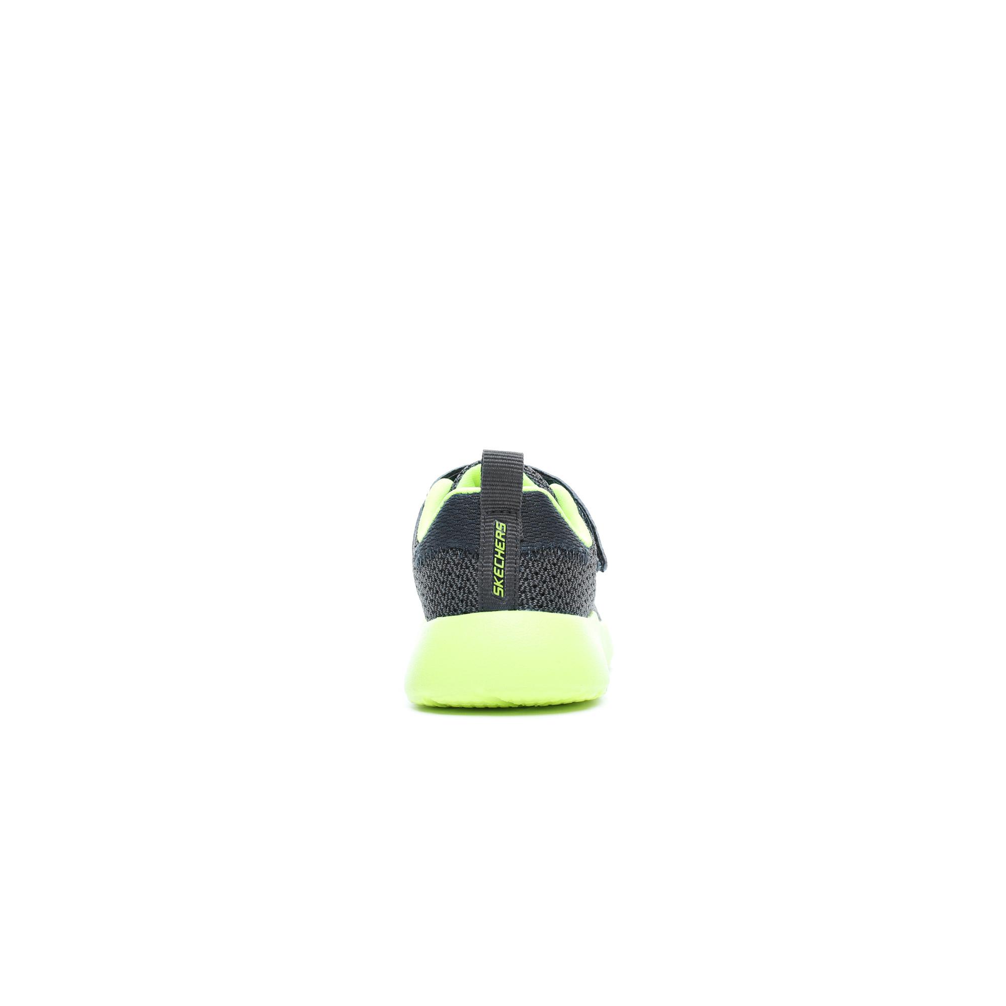 Skechers Dynamight Çocuk Gri-Yeşil Sneaker