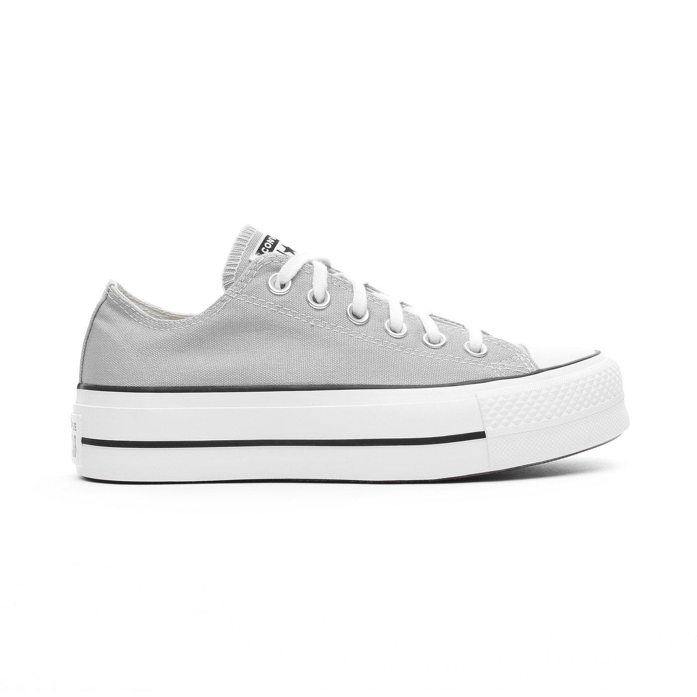 Converse Chuck Taylor All Star Lift Kadın Gri Sneaker