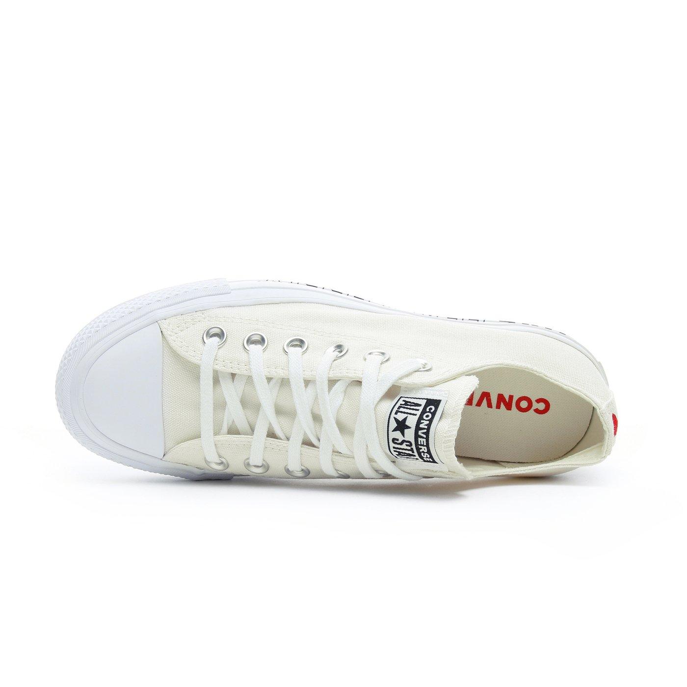 Converse Love Fearlessly Chuck Taylor All Star Lift Kadın Beyaz Sneaker