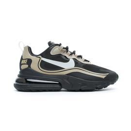 Nike Air Max 270 React Erkek Siyah-Altın Spor Ayakkabı