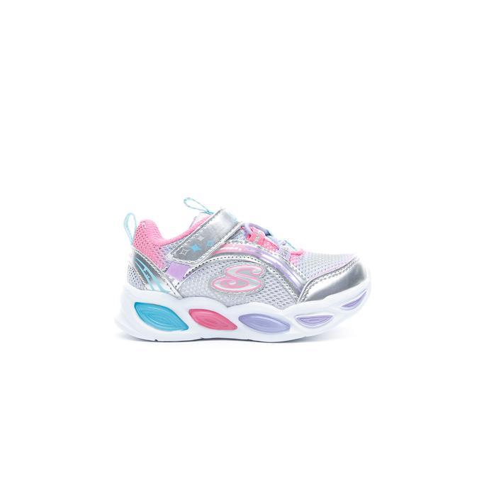 Skechers Shimmer Beams Işıklı Bebek Gri Spor Ayakkabı