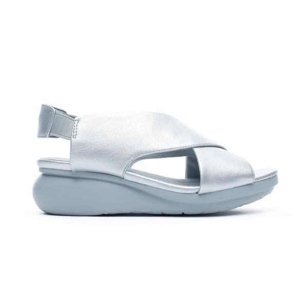 Camper Balloon Kadın Gümüş Sandalet