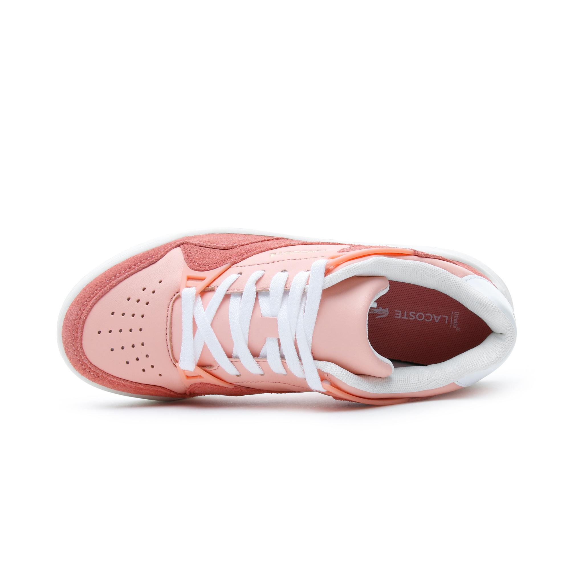Lacoste Court Slam 120 4 US SFA Kadın Pembe Spor Ayakkabı